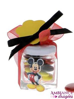 Pot confiture dragées Mickey